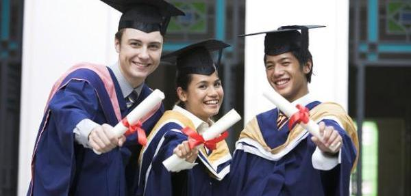 College Graduates with Diploma